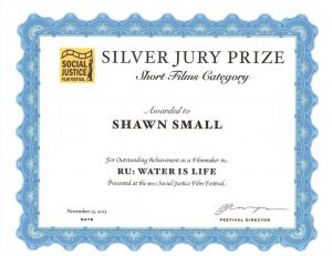 Social Justice Film Festival Silver Jury Prize