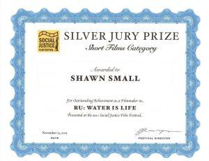 Social Justice Film Festival Silver Jury Prize